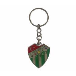 - Anahtarlık Gri Metal Logo Bursaspor