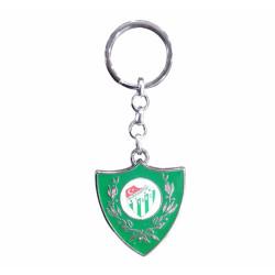 - Anahtarlık Gri Metal Sırma Logo