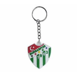 - Anahtarlık Pvc Beyaz Logo Işıklı