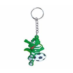 - Anahtarlık Pvc Futbol Timsah