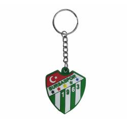 - Anahtarlık Pvc Yeşil Logo Işıklı