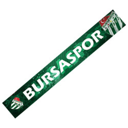 - Atkı Şal Yeşil Beyaz Bursaspor