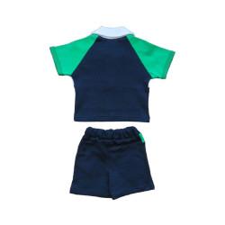 - Bebek Şortlu Takım Lacivert (1)