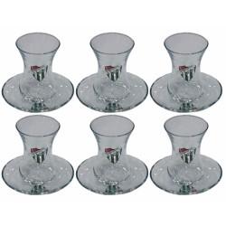 - Çay Bardağı Takımı 6`Lı Kadife Kutulu