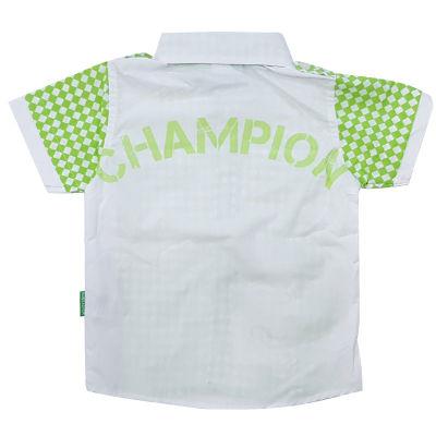 Çocuk Gömlek Damalı Yeşil