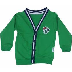 Çocuk Hırka Bursaspor Yeşil - Thumbnail