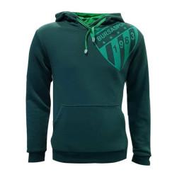 - Çocuk Sweat Kapşonlu Yeşil Logo