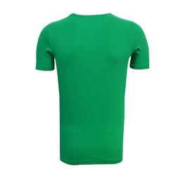 Çocuk T-Shirt 0 Yaka Atatürk Yeşil - Thumbnail