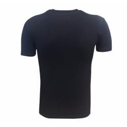 - Çocuk T-Shirt 0 Yaka Babadan Oğula Siyah (1)