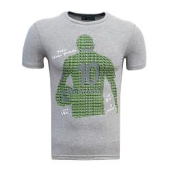 - Çocuk T-Shirt 0 Yaka Batalla İsim Gri