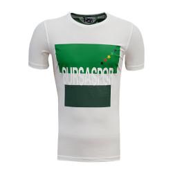 - Çocuk T-Shirt 0 Yaka Bursa Yıldız Beyaz