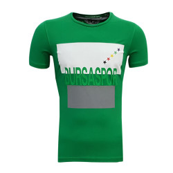 - Çocuk T-Shirt 0 Yaka Bursa Yıldız Yeşil