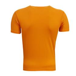 - Çocuk T-Shirt 0 Yaka Green White Turuncu (1)