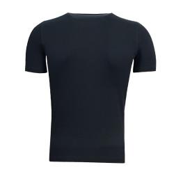 Çocuk T-Shirt 0 Yaka Logo 5 Yıldız Siyah - Thumbnail