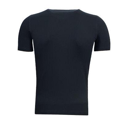Çocuk T-Shirt 0 Yaka Logo 5 Yıldız Siyah