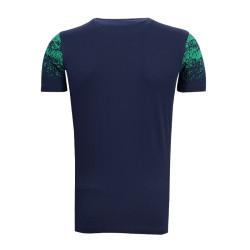 - Çocuk T-Shirt 0 Yaka Noktalı Lacivert (1)