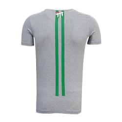 - Çocuk T-Shirt 0 Yaka Üçgen 5 Yıldız Gri (1)
