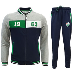 - Eşofman Takım 1963 Laci Gri Yeşil