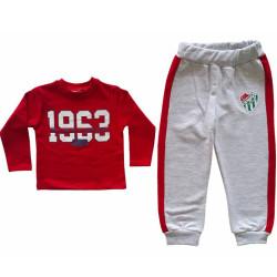 - Eşofman Takım Çocuk 1963 Bs Kırmızı