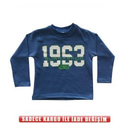 - Eşofman Tek Üst Çocuk 1963 Bs Mavi