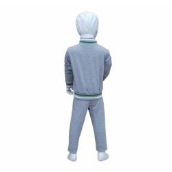- Eşofman Takım Çocuk Yeşil Beyaz Gri (1)