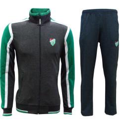 - Eşofman Takım Füme Yeşil Beyaz