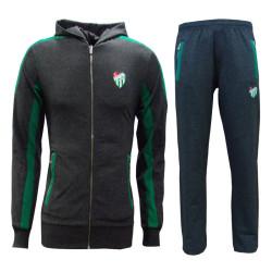 - Eşofman Takım Melanj Yeşil Logo