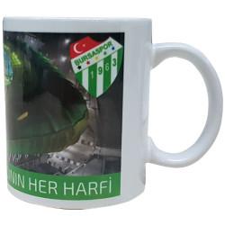 - Mug Porselen Adının Her Harfi