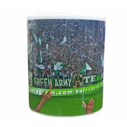- Mug Porselen Green Army