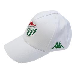 - Şapka Kappa Beyaz Logo