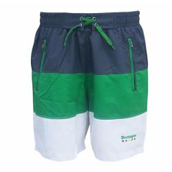 - Şort Deniz Yeşil Beyaz Füme