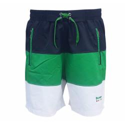 - Şort Deniz Yeşil Beyaz Lacivert