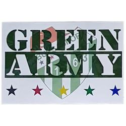 - Sticker Green Army Logo