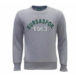 - Sweat 0 Yaka Bursaspor 1963 Gri