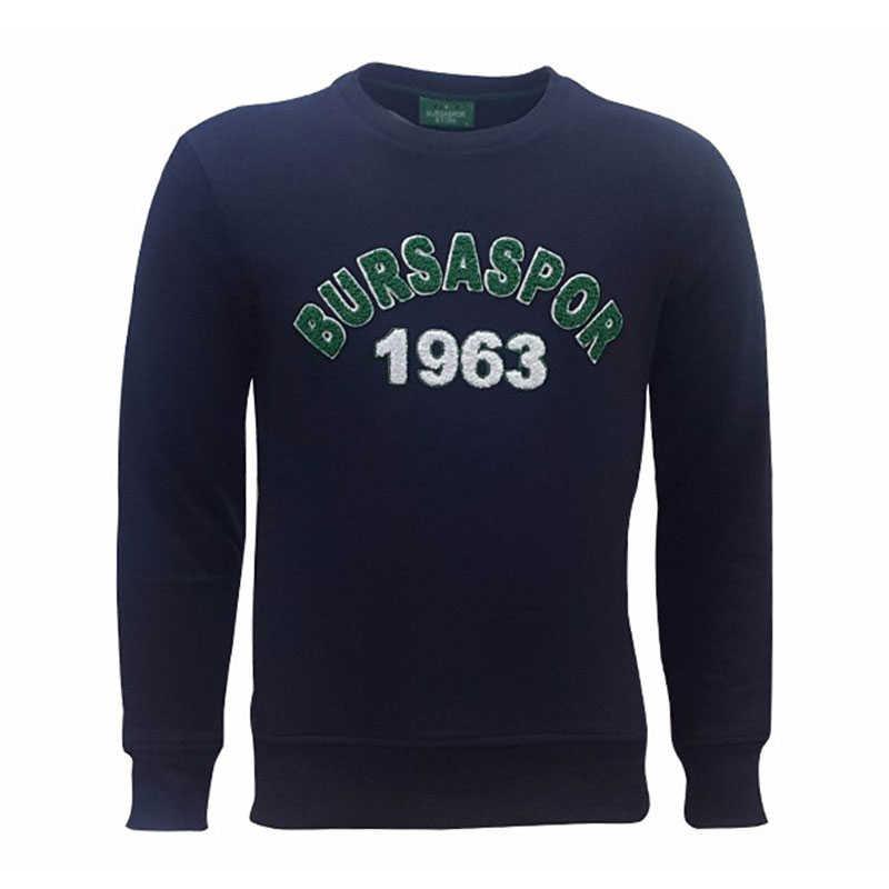 - Sweat 0 Yaka Bursaspor 1963 Lacivert