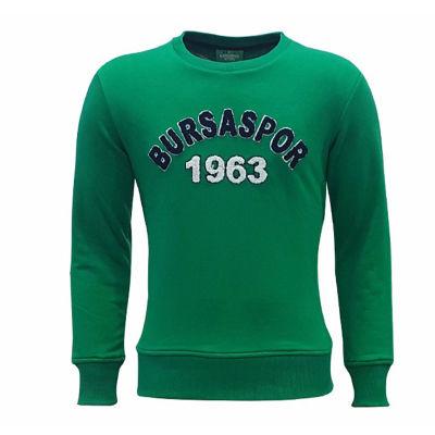 Sweat 0 Yaka Bursaspor 1963 Yeşil