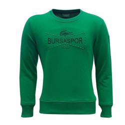 - Sweat 0 Yaka Timsah Bursaspor Yeşil