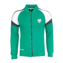 - Sweat Fermuarlı Logo Yeşil
