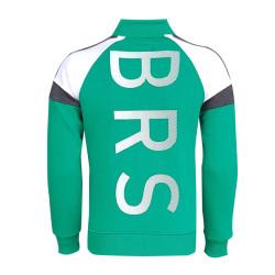 - Sweat Fermuarlı Logo Yeşil (1)