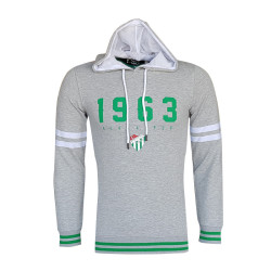 - Sweat Kapşonlu 1963 Logo Gri