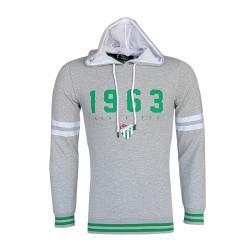 - Sweat Kapşonlu 1963 Logo Gri