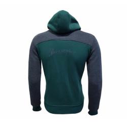- Sweat Kapşonlu 3 İp Yeşil Füme (1)