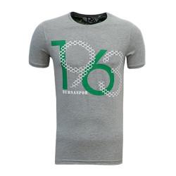 - T-Shirt 0 Yaka 1963 Bursaspor Gri