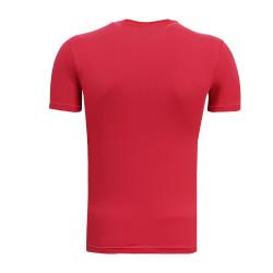 3TSHIRT90TL - T-Shirt 0 Yaka 1963 Duvar Kırmızı (1)