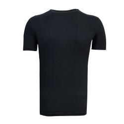 3TSHIRT90TL - T-Shirt 0 Yaka 1963 Duvar Siyah (1)