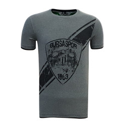 - T-Shirt 0 Yaka Arma Bursaspor Antrasit