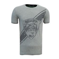 - T-Shirt 0 Yaka Arma Bursaspor Gri