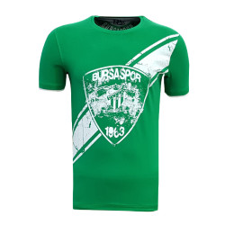 - T-Shirt 0 Yaka Arma Bursaspor Yeşil