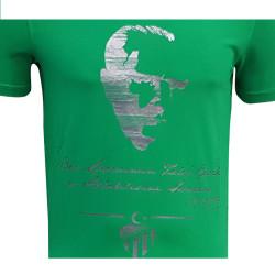 - T-Shirt 0 Yaka Atatürk Yeşil (1)
