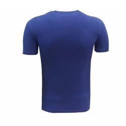 - T-Shirt 0 Yaka Babadan Oğula Lacivert (1)